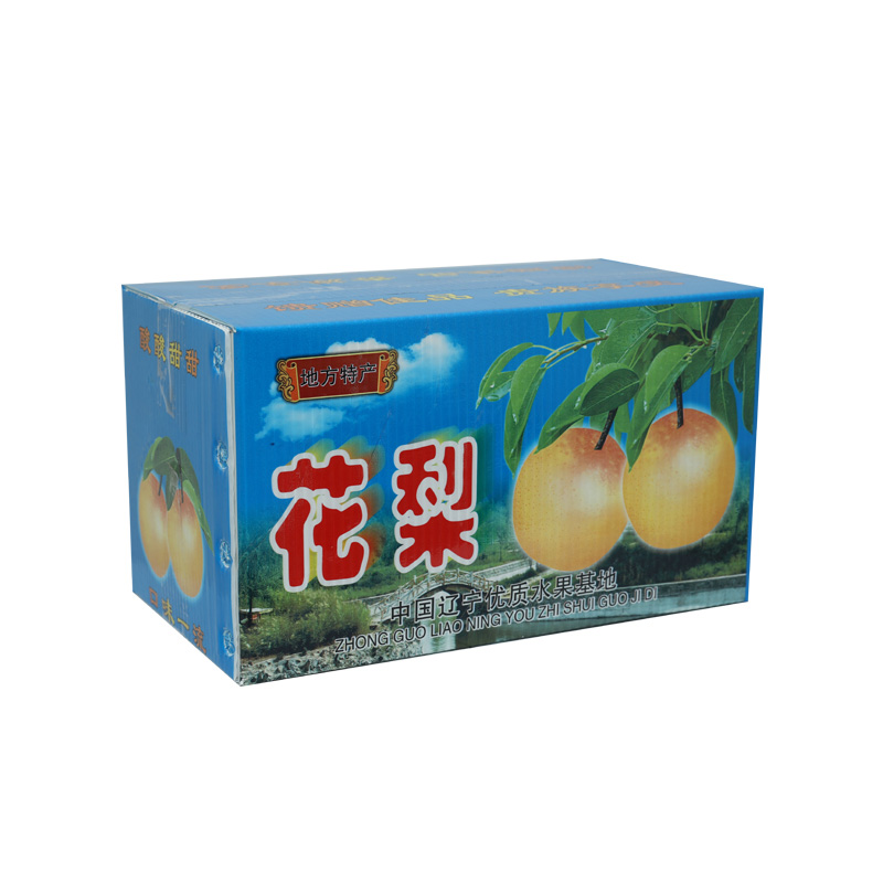 Corrugated plastic agricultural boxes containers for fruits custom size color design for packaging or circulation