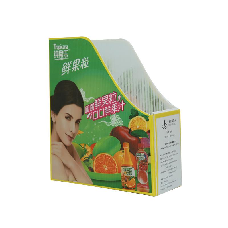 Corrugated plastic file holder custom size color design