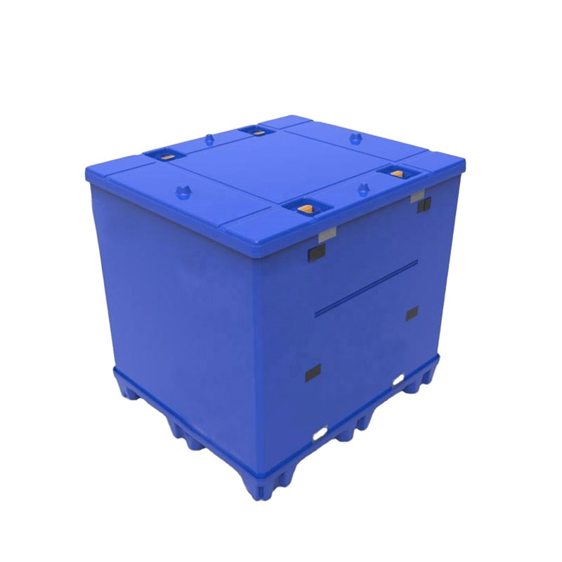 Polypropylene PP plastic pallet sleeve coaming bulk containers heavy duty foldable