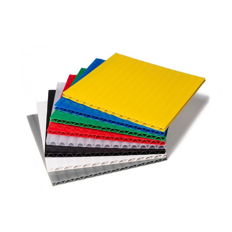 Polyethylene PE corrugated plastic laminated sheets cable protector