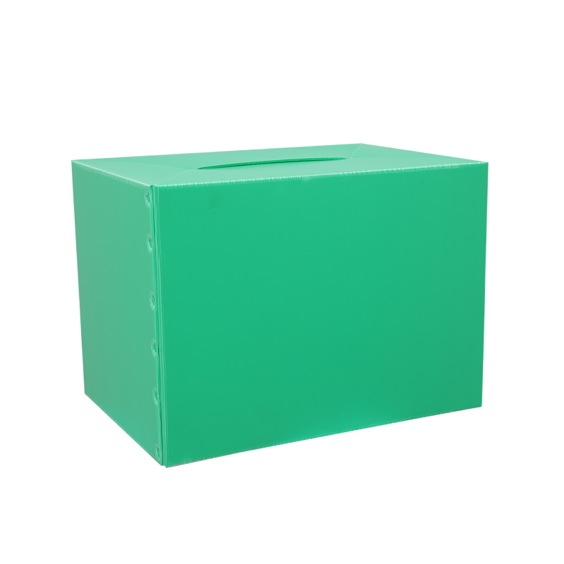 Corrugated plastic RSC boxes containers custom size color design for packaging or circulation